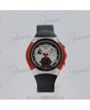 Sportowy zegarek męski Tissot T-Tracx T010.417.17.031.01 (T0104171703101) mechanizm kwarcowy ze stoperem