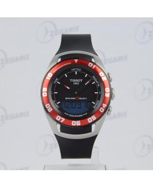 Szwajcarski zegarek męski Tissot Sailing Touch T056.420.27.051.00 Zegaris Rzeszów