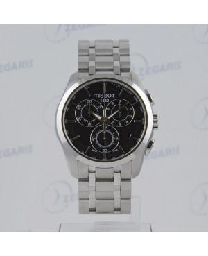 Szwajcarski zegarek męski Tissot Couturier T035.617.11.051.00 Zegaris Rzeszów