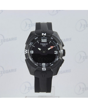 Szwajcarski zegarek męski Tissot T-Touch Expert Solar T091.420.47.057.01 Zegaris Rzeszów