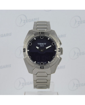 Szwajcarski zegarek męski Tissot T-Touch Expert Solar T091.420.44.041.00 Zegaris Rzeszów