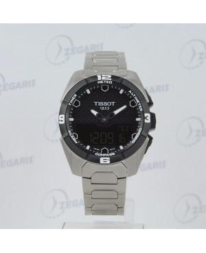 Szwajcarski zegarek męski Tissot T-Touch Expert Solar T091.420.44.051.00 Zegaris Rzeszów