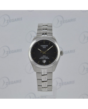 Szwajcarski zegarek męski Tissot PR 100 Gent Cosc T101.451.11.051.00 Zegaris Rzeszów