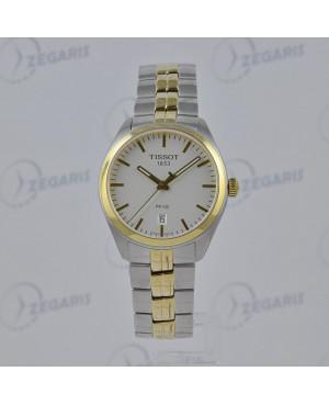 Szwajcarski, klasyczny zegarek męski Tissot PR 100 Gent T101.410.22.031.00 (T1014102203100) elegancki
