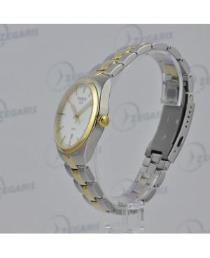 Szwajcarski, klasyczny zegarek męski Tissot PR 100 Gent T101.410.22.031.00 (T1014102203100) z szafirowym szkłem
