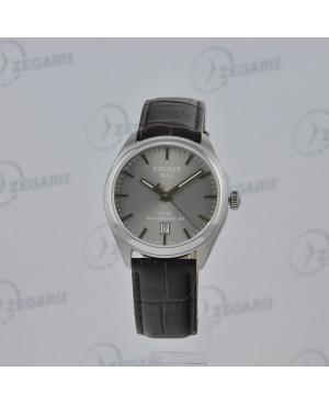Szwajcarski zegarek męski Tissot PR100 Powermatic 80 T101.407.16.071.00 (T1014071607100) elegancki