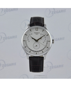 Szwajcarski zegarek męski Tissot Tradition T063.637.16.037.00 Zegaris Rzeszów