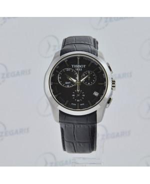 Szwajcarski zegarek męski Tissot Couturier T035.439.16.051.00 Zegaris Rzeszów