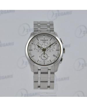 Szwajcarski zegarek męski Tissot Couturier T035.617.11.031.00 Zegaris Rzeszów