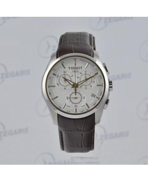 Szwajcarski zegarek męski Tissot Couturier T035.617.16.031.00 Zegaris Rzeszów