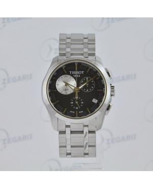Szwajcarski zegarek męski Tissot Couturier T035.439.11.051.00 Zegaris Rzeszów