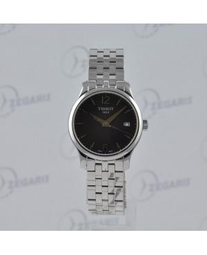 Szwajcarski zegarek damski Tissot Tradition T063.210.11.057.00 Zegaris Rzeszów