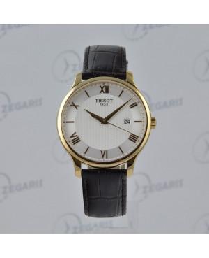 Szwajcarski zegarek męski Tissot Tradition T063.610.36.038.00 Zegaris Rzeszów