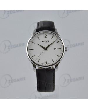 Szwajcarski zegarek męski Tissot Tradition T063.610.16.037.00 Zegaris Rzeszów