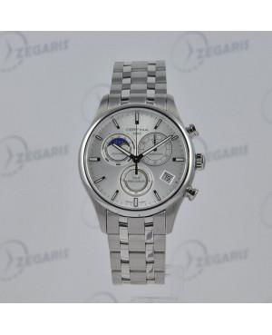 Szwajcarski zegarek męski Certina DS Chrono Moon Phase C033.450.11.031.00 Zegaris Rzeszów
