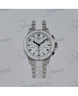 Szwajcarski zegarek damski Certina DS First Lady Ceramic Chrono C030.217.11.017.00 Zegaris Rzeszów