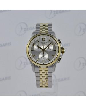 Szwajcarski zegarek damski Certina DS First Lady Ceramic Chrono C030.217.22.037.00 Zegaris Rzeszów