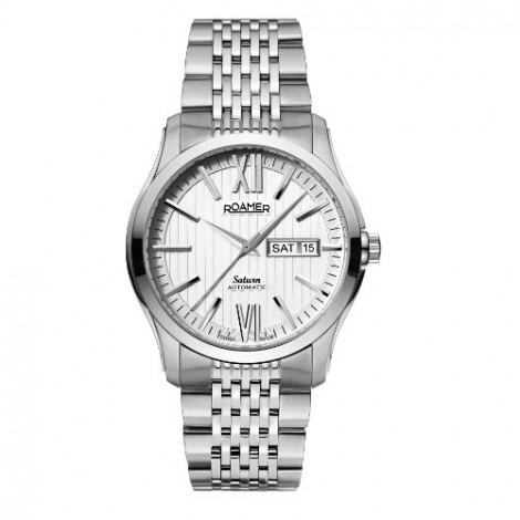 Szwajcarski zegarek męski ROAMER Saturn Automatic Gents 941637 41 13 90 (941637411390)