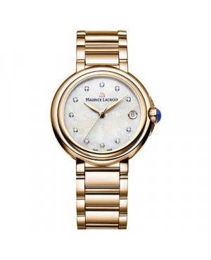 Szwajcarski, klasyczny zegarek damski MAURICE LACROIX Fiaba FA1004-PVP06-170-1 (FA1004PVP061701)