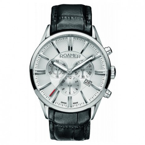 Szwajcarski zegarek męski ROAMER Superior Chrono 508837 41 15 05
