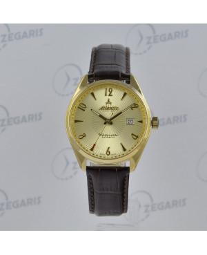 Szwajcarski zegarek męski Atlantic Worldmaster Art Deco 51751.41.25S Zegaris Rzeszów