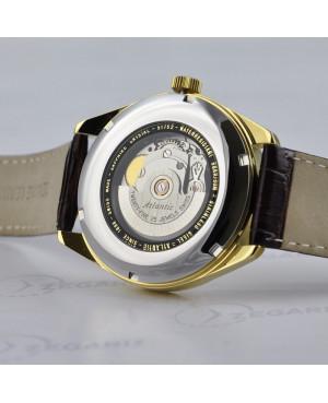 Atlantic Worldmaster Art Deco 51751.41.25S Szwajcarski zegarek męski Rzeszów