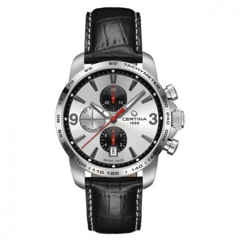 Szwajcarski, sportowy zegarek męski Certina Podium Chronograph Automatic C001.427.16.037.01 (C0014271603701)