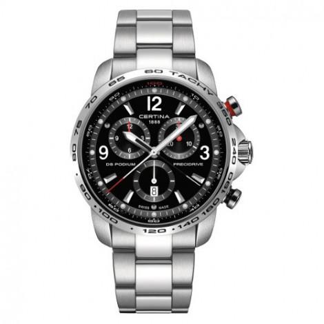 Szwajcarski, sportowy zegarek męski Certina DS Podium Chronograph 1/100 sec C001.647.11.057.00 (C0016471105700)