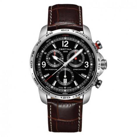 Szwajcarski, sportowy zegarek męski Certina DS Podium Chronograph 1/100 sec C001.647.16.057.00 (C0016471605700)