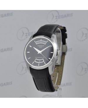 Szwajcarski, klasyczny zegarek męski Tissot Couturier Powermatic 80 T035.407.16.051.02 (T0354071605102) mechanizm automatyczny