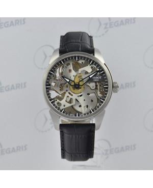 Szwajcarski zegarek męski Tissot T-Complication Squelette T070.405.16.411.00 Zegaris Rzeszów