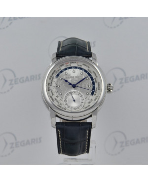Szwajcarski zegarek męski FREDERIQUE CONSTANT Worldtimer Manufacture C-718WM4H6 Zegaris Rzeszów
