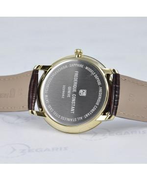 Szwajcarski zegarek męski FREDERIQUE CONSTANT Slimline Gents FC-200RS5S35 FC200RS5S35 Zegaris Rzeszów