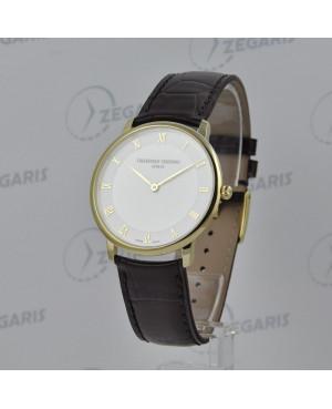 Zegarek FREDERIQUE CONSTANT Slimline Gents FC-200RS5S35 Odporne na zarysowania szkło szafirowe, męski Rzeszów
