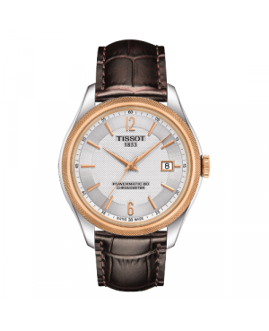 Szwajcarski, elegancki zegarek męski TISSOT BALLADE POWERMATIC 80 T108.408.26.037.00 (T1084082603700)