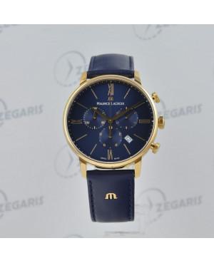 Szwajcarski zegarek męski MAURICE LACROIX Eliros Chronograph EL1098-PVP01-411 Zegaris Rzeszów