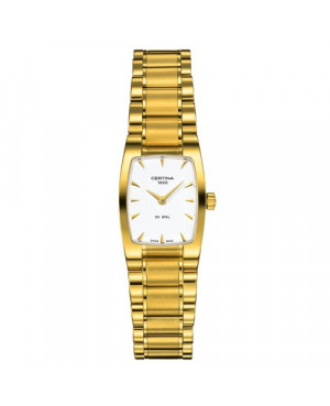 Szwajcarski, klasyczny zegarek damski Certina DS Mini Spel Lady Shape C012.109.33.031.00 (C0121093303100)