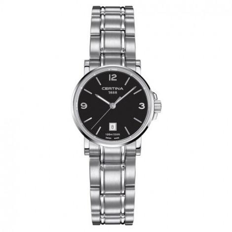 Szwajcarski, klasyczny zegarek damski Certina DS Caimano Lady C017.210.11.057.00 (C0172101105700)