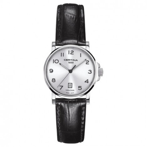 Szwajcarski, klasyczny zegarek damski Certina DS Caimano Lady C017.210.16.032.00 (C0172101603200)