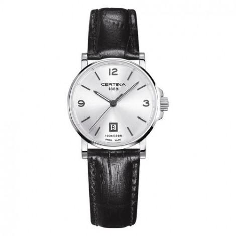 Szwajcarski, klasyczny zegarek damski Certina DS Caimano Lady C017.210.16.037.00 (C0172101603700)