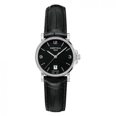 Szwajcarski, klasyczny zegarek damski Certina DS Caimano Lady C017.210.16.057.00 (C0172101605700)
