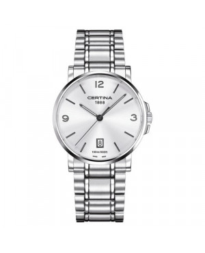 Szwajcarski, klasyczny zegarek męski Certina DS Caimano Gent C017.410.11.037.00 (C0174101103700)