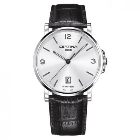 Szwajcarski, klasyczny zegarek męski Certina DS Caimano Gent C017.410.16.037.00 (C0174101603700)