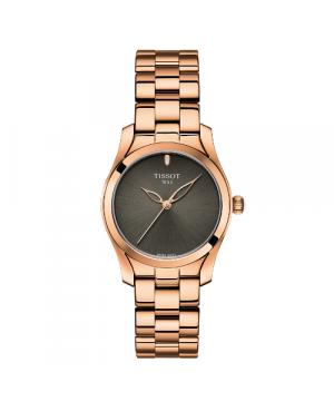 Szwajcarski, elegancki zegarek damski TISSOT T-WAVE T112.210.33.061.00 (T1122103306100) na bransolecie