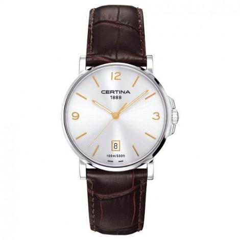 Szwajcarski, klasyczny zegarek męski Certina DS Caimano Gent C017.410.16.037.01 (C0174101603701)