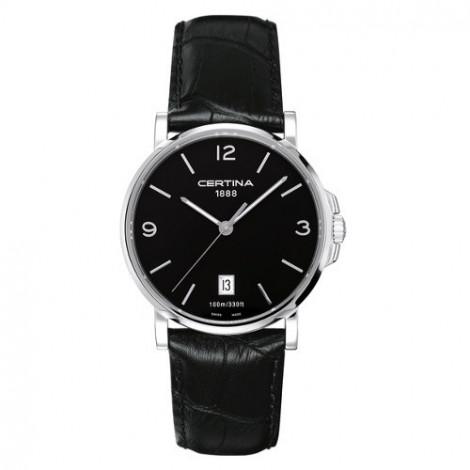 Szwajcarski, klasyczny zegarek męski Certina DS Caimano Gent C017.410.16.057.00 (C0174101605700)