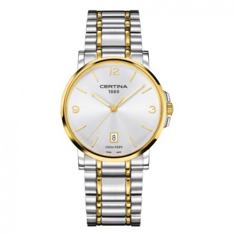 Szwajcarski, klasyczny zegarek męski Certina DS Caimano Gent C017.410.22.037.00 (C0174102203700)