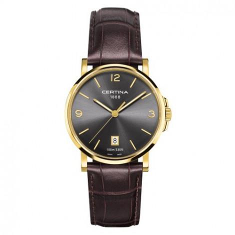 Szwajcarski, klasyczny zegarek męski Certina DS Caimano Gent C017.410.22.037.00 (C0174103608700)