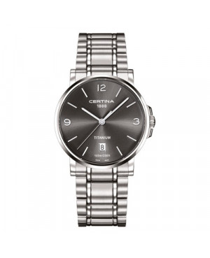 Szwajcarski, klasyczny zegarek męski Certina DS Caimano Gent C017.410.44.087.00 (C0174104408700)