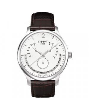 TISSOT T063.637.16.037.00 Tradition Perpetual Calendar (T0636371603700)
